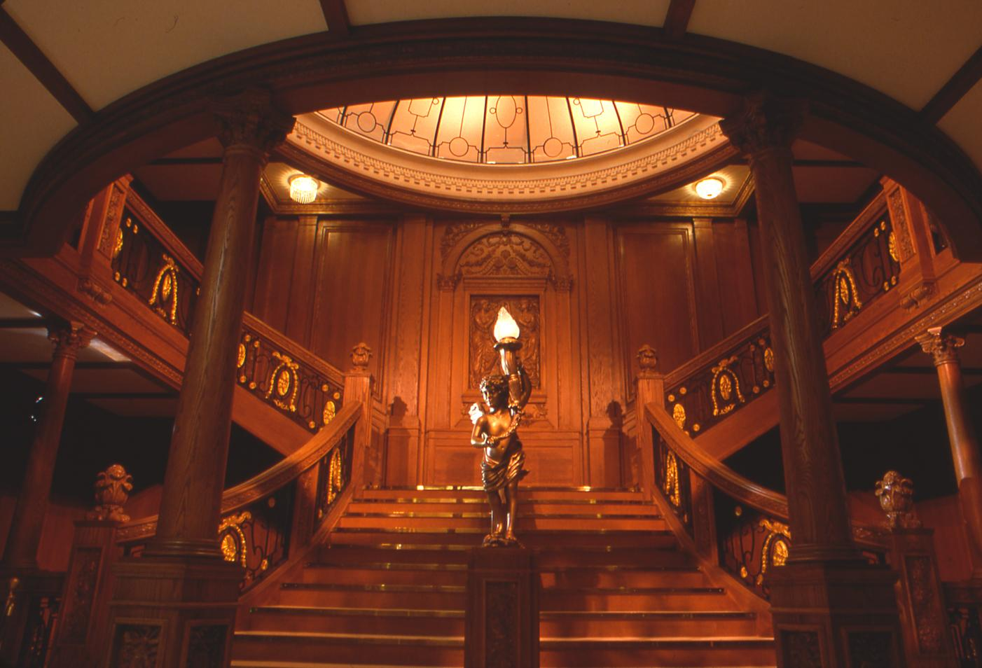 Titanic Underwater Grand Staircase